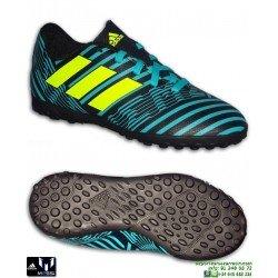 Adidas NEMEZIZ 17.4 Niños azul-Negro Zapatilla Futbol messi S82469