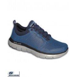 Zapatilla Skechers FLEX ADVANTAGE 2.0 DALI Azul Marino Hombre Memory Foam 52124/NVY