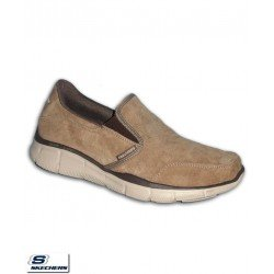 Zapatilla Skechers EQUALIZER MIND GAME Marron Hombre Memory Foam 51502/BRN