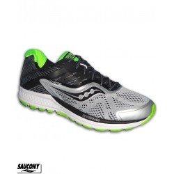 Saucony RIDE 10 Zapatilla Running Neutra Gris-Blanco S20373-1 hombre