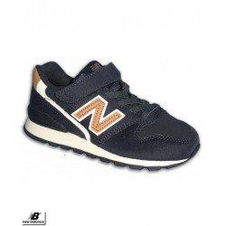 NEW BALANCE 996 Zapatilla Niño Velcro Marino Moda calle KV996AVY