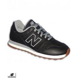 NEW BALANCE 373 Piel Negra Zapatilla Sneakers ML373BLA