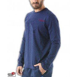 Camiseta Manga Larga JOHN SMITH LISONE Azul marino