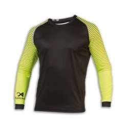 Camiseta Portero Manga Larga ASIOKA 157/17 Negro Equipacion futbol