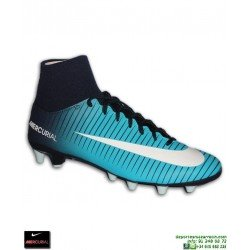 Nike MERCURIAL VICTORY 6 Calcetin Azul Bota Futbol AG-PRO CR7 cristiano ronaldo cr7 isco modric asensio 903608-404