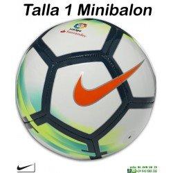 Mini Balon de Futbol La Liga Santander Nike Talla 1 SC3158-100