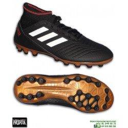 Adidas PREDATOR 18.3 AG Calcetin Negra Bota Futbol Hierba Artificial
