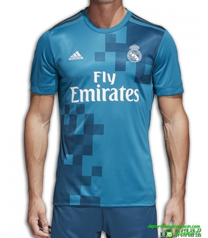 Camiseta REAL MADRID 2017-2018 azul 3 Equipacion ADIDAS BR3539 fb9a36b5dcd8f