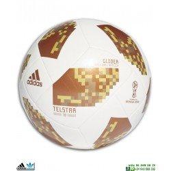 Balon ADIDAS TESLAR WOLRD CUP GLIDE Blanco-Dorado CE8099 futbol