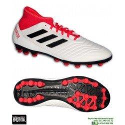 Adidas PREDATOR 18.3 AG Calcetin Blanco Bota Futbol Hierba Artificial
