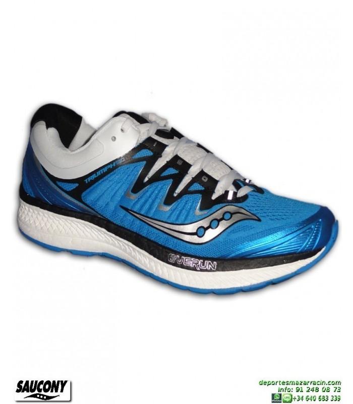 Saucony TRIUMPH ISO 4 Zapatilla Running Neutra Azul