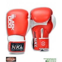 Guante Boxeo NKL BLACK DOG Rojo CGU00001-RO