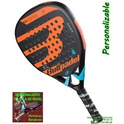 Bullpadel VERTEX-2 JR 18 Pala Padel Junior chicos personalizable