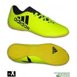 Adidas X 17.4 Amarilla Zapatilla Futbol Sala