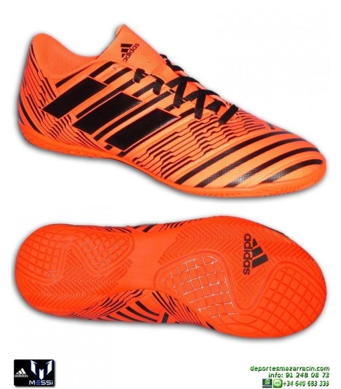 dd5141f76a46b Adidas NEMEZIZ 17.4 IN Naranja Zapatilla Futbol Sala hombre S82475 messi  lucas vazquez