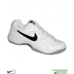 Zapatilla Tenis/Padel NIKE COURT LITE Espiga 845021-100 Blanco-Negro