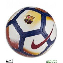 Balon futbol BARCELONA Blanco Nike SC3480-100 Grabar nombre