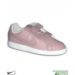 Zapatilla Niña Nike COURT ROYALE Velcro (PSV) Rosa