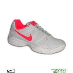Zapatilla Tenis Chica Nike CITY COURT 7 Gris-Rosa 488327-002 padel