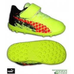 PUMA FUTURE 18.4 Infantil Zapatilla Futbol Velcro Turf Griezmann