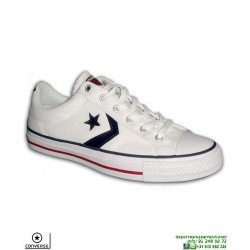 Sneaker CONVERSE STAR PLAYER OX Blanca Hombre deportiva lona