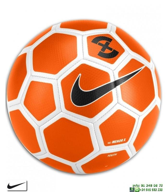 Balon Futbol Sala Nike Football X Menor Naranja SC3039-834 personalizar c5d9bc0d76c2f