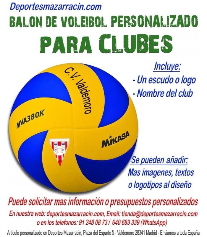 Balón de Voleibol PERSONALIZADO Para clubes escudo Logotipo y Nombre 420743079e0c7