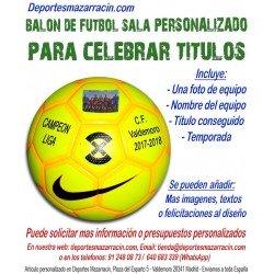 balon-futbol-sala-personalizado-para-celebrar-titulos-nombre-imagen-temporada-equipo-fecha-nike-football-x-menor