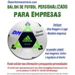 Balon Futbol PERSONALIZADO Para Empresas Adidas Logotipo imagen Nombre starlancer B10545