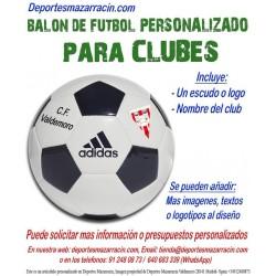 Balon Futbol PERSONALIZADO Para Clubes EPP Logotipo escudo Nombre Adidas CD6577