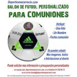 balon futbol personalizado para comuniones adidas Imagen foto Nombre fecha starlancer b10545