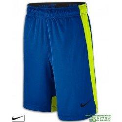 Pantalon Corto NIKE Dry Training Shorts Azul-Lima Junior 803966-405 niños