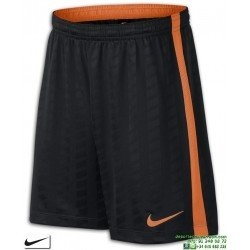 Pantalon Corto NIKE Academy Football Short Negro-Naranja Junior