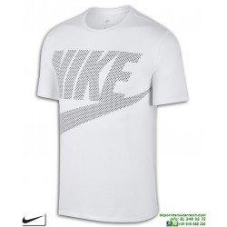 Camiseta NIKE Sportswear T-Shirt Blanca Algodon 891865-100 Hombre