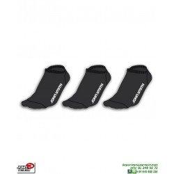 Calcetin Pinky negro Fino John Smith tres Pares C17100-18V-000