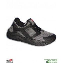 Sneakers John Smith RIVAL Negro Hombre