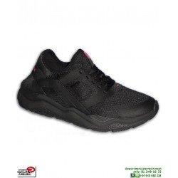 Sneakers John Smith RIVAL nike huarache mujer Negro zapatilla deportiva Footwear personalizar