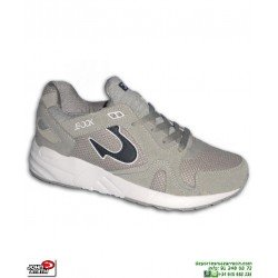 Sneakers John Smith VOMA Gris Hombre piel Vuelta chico