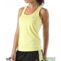 Camiseta Mujer Tirantes Deporte JOHN SMITH ATARCA Amarillo poliester Transpirable