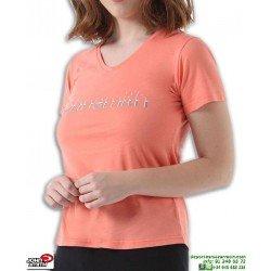 Camiseta Señora JOHN SMITH PATECOS Salmon corte ancho manga corta