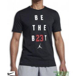 Camiseta Jordan NIKE JMTC BE THE BEST Training Negro Algodon 895149-010 Hombre