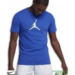 Camiseta Jordan NIKE Dry JMTC 23/7 Jumpman Basketball Azul-blanco Algodon 925602-405
