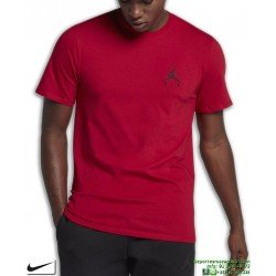 Camiseta Jordan NIKE Sportswear Jumpman Air Embroidered Rojo Algodon AH5296-687