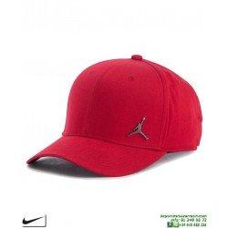 Gorra Jordan NIKE Classic99 Metal Jumpman Hat Rojo899657-687 visera curvada