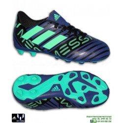 Adidas NEMEZIZ MESSI TANGO Niños Azul Tinta Bota Futbol Tacos