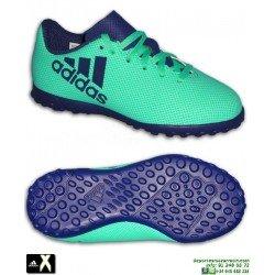 Adidas X Niño Tango 17.4 Verde Zapatilla Futbol Turf Minitacos CP9045 Bale Luis Suarez