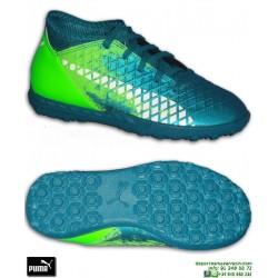 PUMA FUTURE Griezmann Niños 18.4 Zapatilla Futbol Turf Azul-Verde