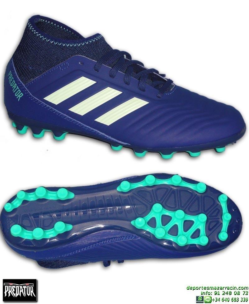 d77da01b7 ... discount adidas predator 18.3 ag calcetin niño azul marino bota futbol  artificial ah2331 68bfd f97c6