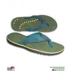 Chancla TREKKING +8000 John Smith PENTEX 18 Verde caza caminar playa piscina senderismo