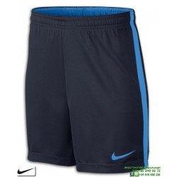 Pantalon Corto Junior NIKE DRY ACADEMY Azul Marino-Royal 832901-458 niño Poliester DRI FIT short futbol